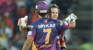 Steve Smith Replaces MS Dhoni