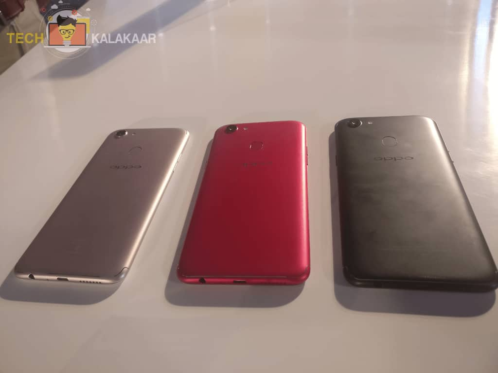 OPPO F5 - Gold Edition, Red Edition, Black Edition