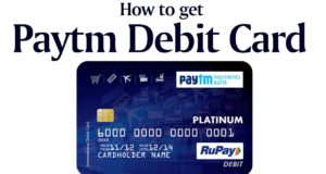 paytm debit card