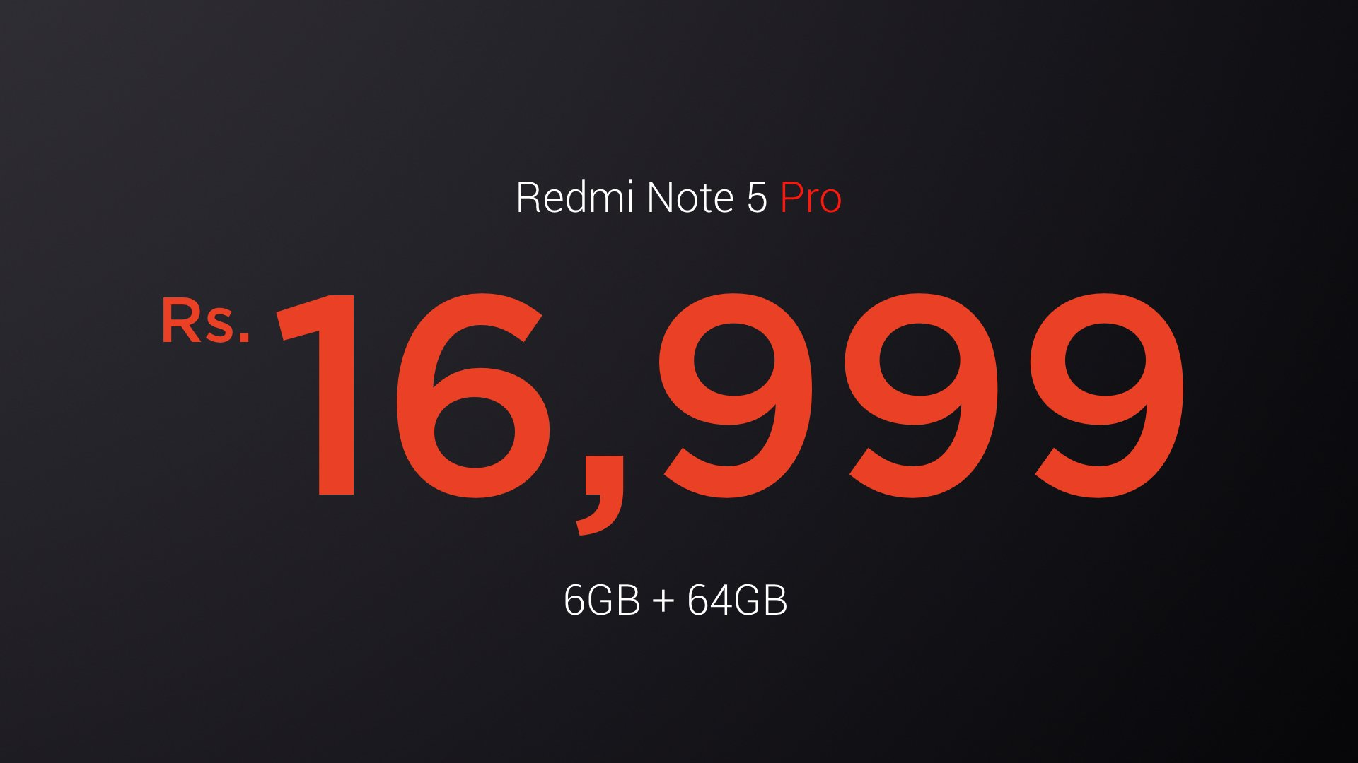 Redmi Note 5 - 6GB + 64GB