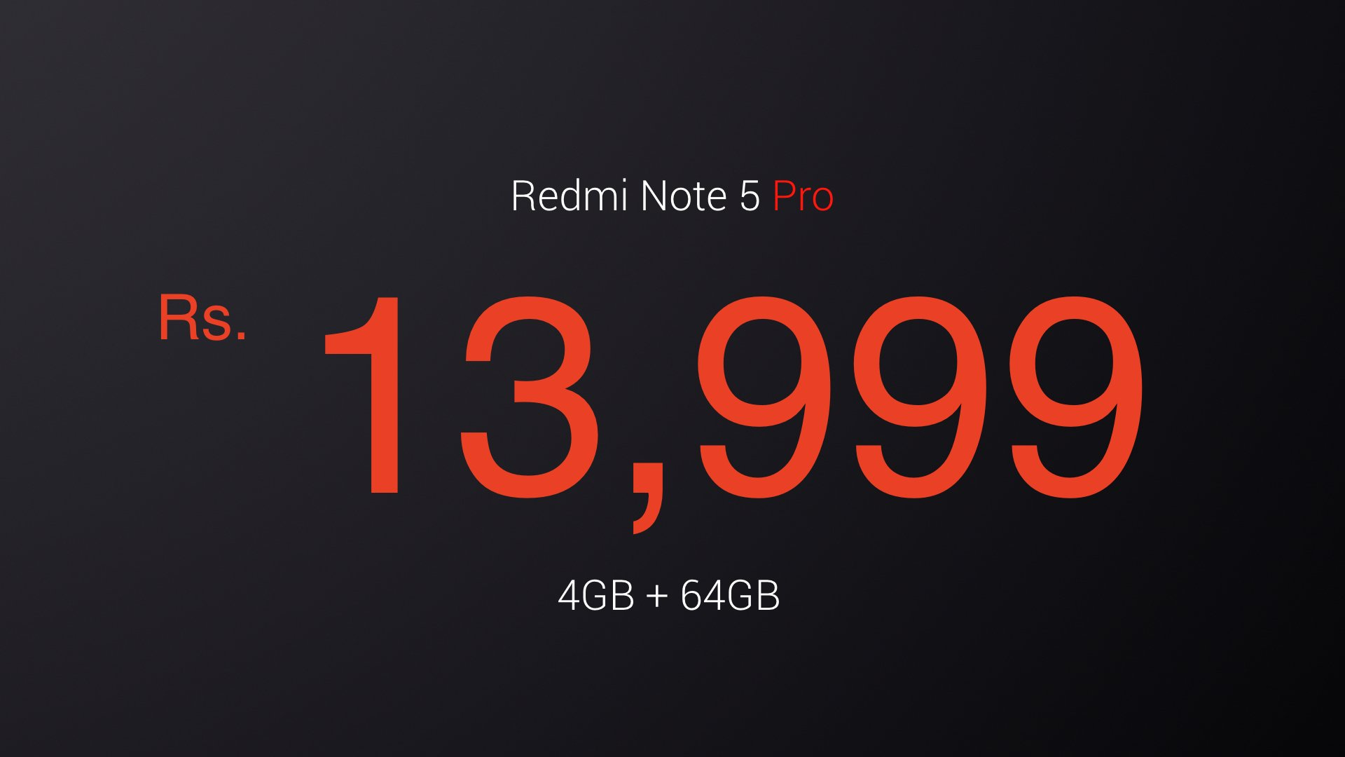 Redmi Note 5 - 4GB + 64GB