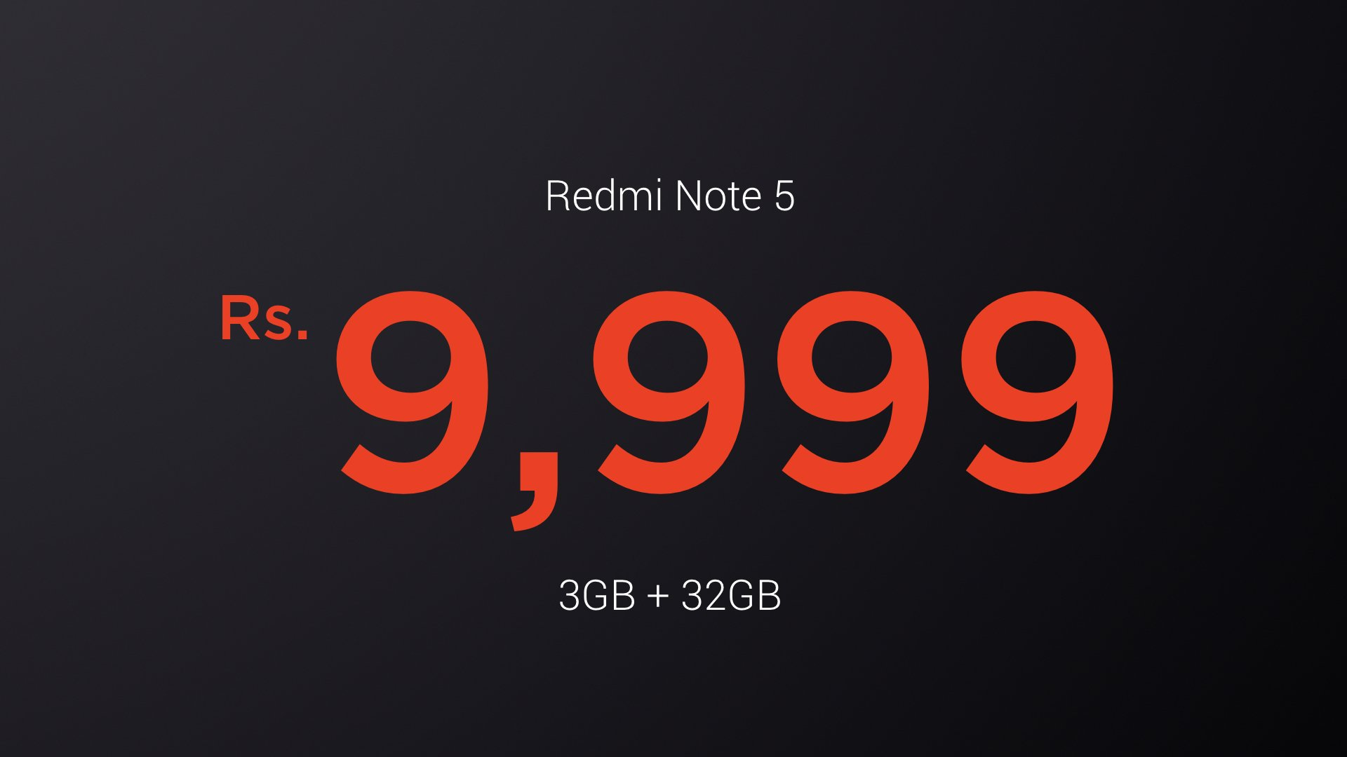 Redmi Note 5 Price